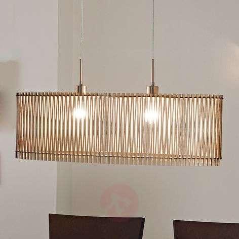 Sendero wooden pendant light with natural design-3031912-31