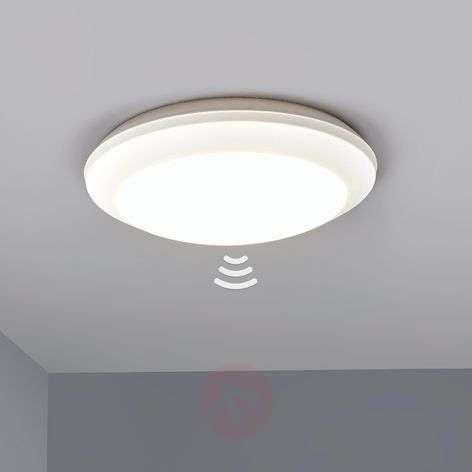 Sensor ceiling light Umberta 2xE27 white