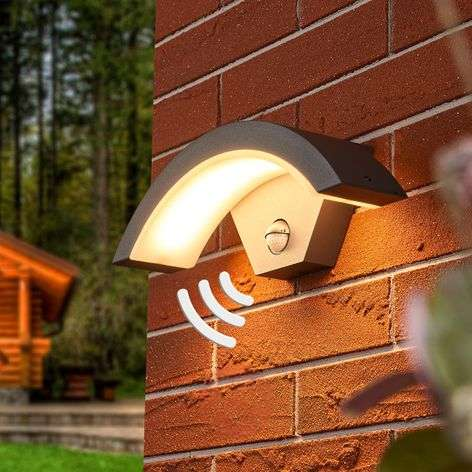 Sensor LED outdoor wall lamp Jule