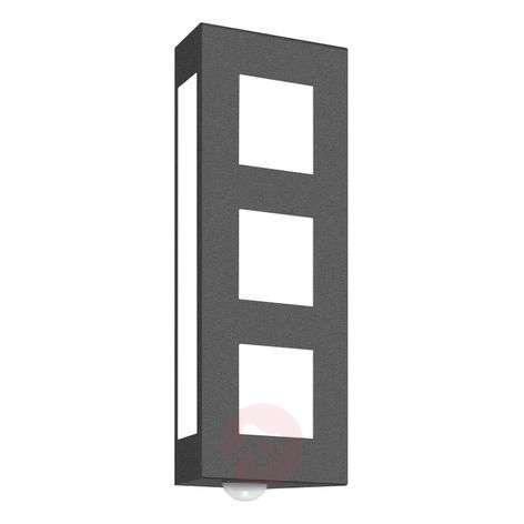 Sensor outdoor wall light Aqua Trilo, anthracite