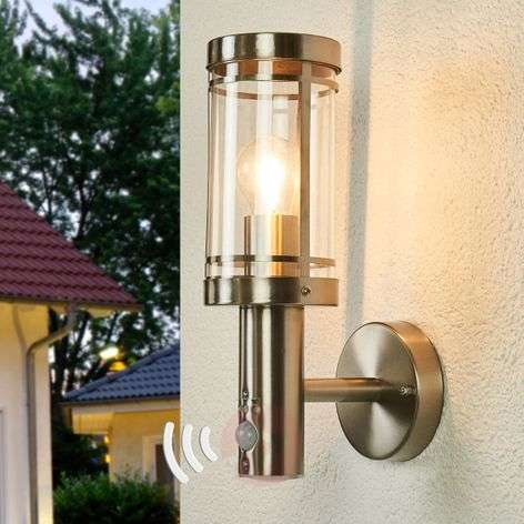 Sensor stainless steel outdoor wall lamp Djori