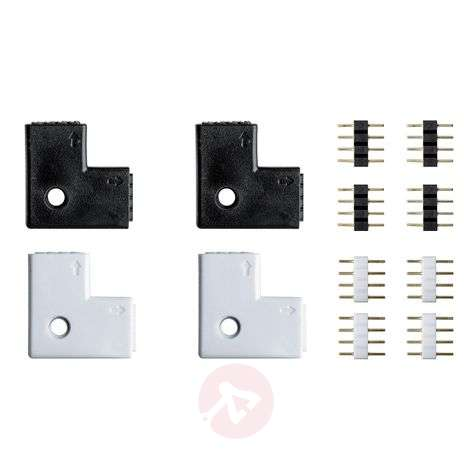 Set of 4 corner connectors for Caja strip system