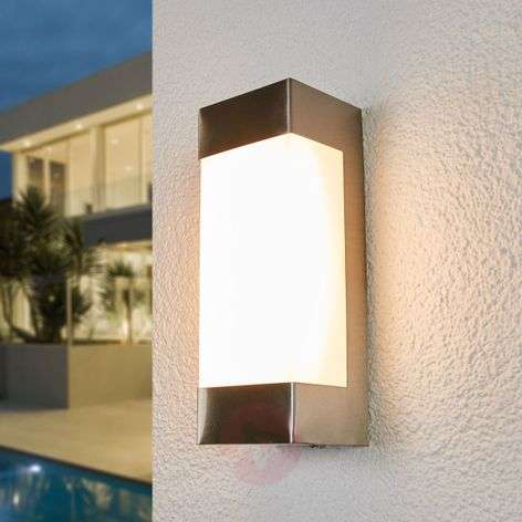 Severina - LED wall lamp made of stainless steel