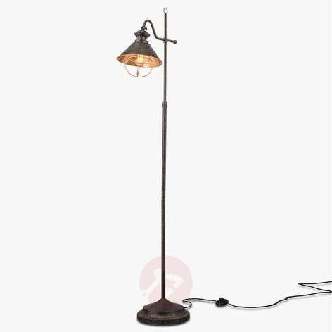 Shanta floor lamp in antique style