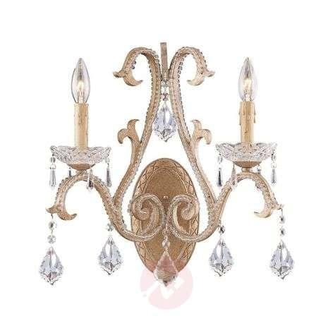Shasta - noble crystal wall light