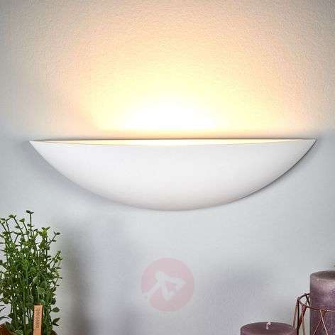 Shell-shaped plaster wall lamp Guilia-9613059-32