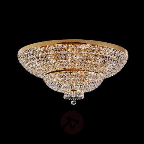 Sherata Crystal Ceiling Light 15 Bulbs