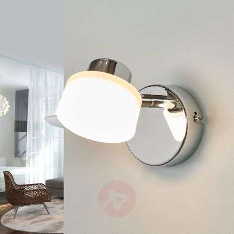 Shia chrome-plated LED spotlight