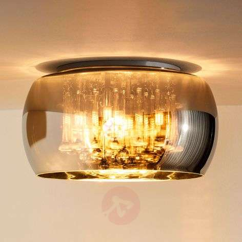 Shimmering Pearl ceiling light, glass, 40 cm