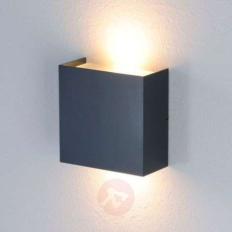 Shines upwards and downwards - Mira LED wall light