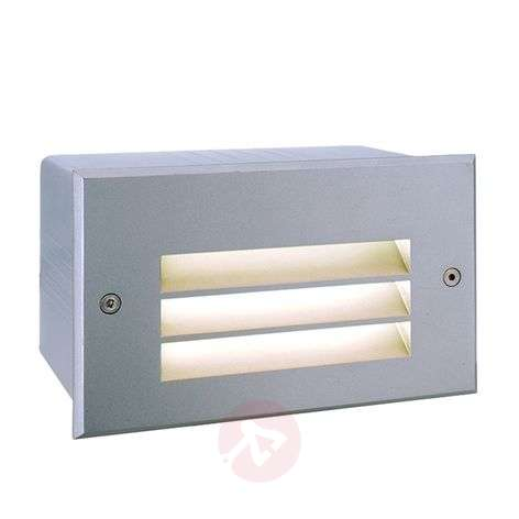 Side 5 - Built-in wall lamp in silver, warm white