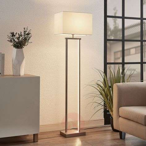 Sigurd floor lamp with lampshade