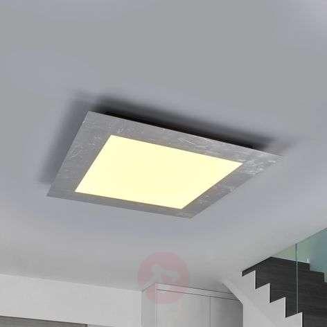 Silver-coloured framed LED panel Deno