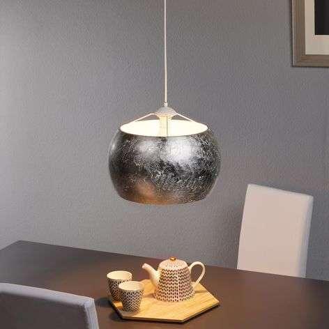 Silver-coloured pendant light Banja