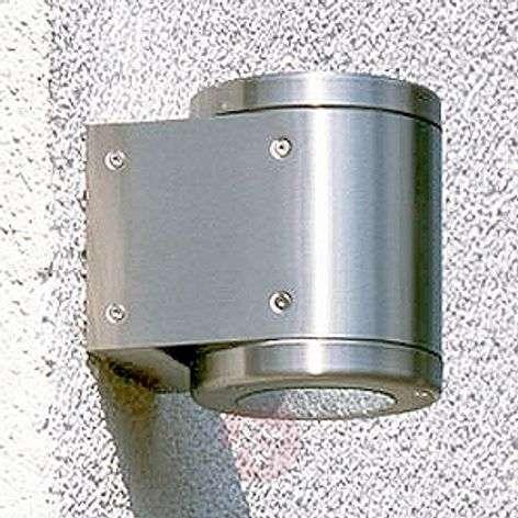 Silver outdoor wall spotlight 534