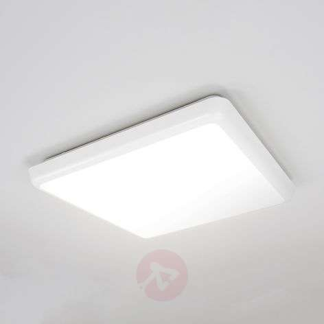Simple Augustin ceiling light with LEDs, IP54