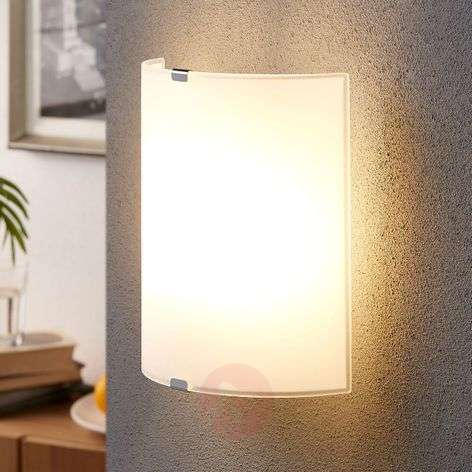 Simple glass wall light Phil