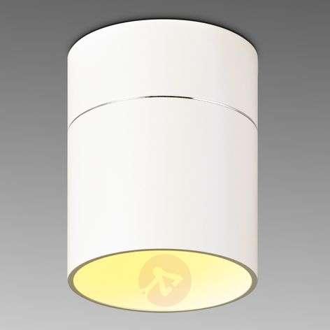 Simple LED ceiling light Tudor M 13.9cm matt white