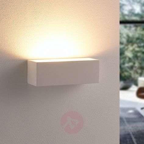 Simple LED plaster wall lamp Santino