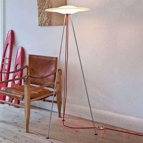 Sine designer floor lamp