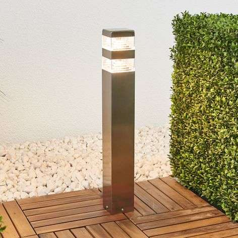 Sinja angular LED stainless steel path light