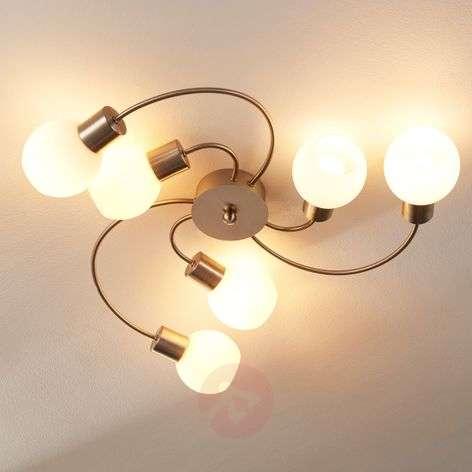 Six-bulb LED ceiling lamp Elaina