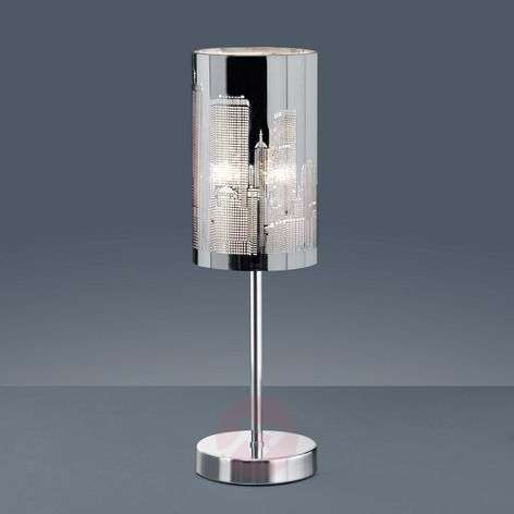 Skyline table lamp with touch switch