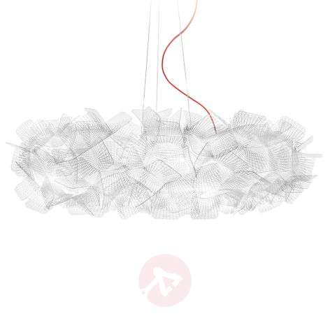 Slamp Clizia Pixel hanging lamp, red cable