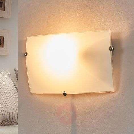 Sleek Liria 1 Wall Lamp made of Glass
