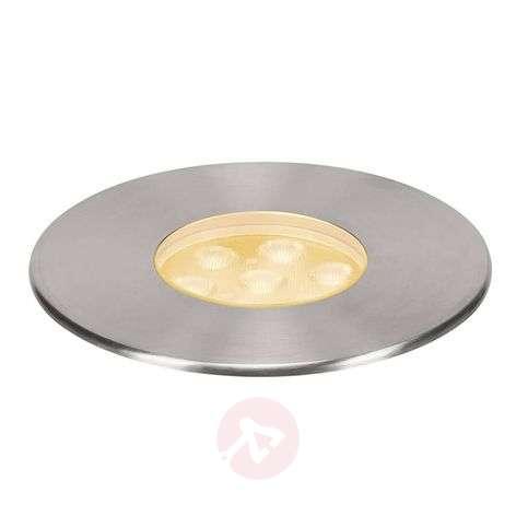 SLV Dasar 150 LED recessed floor light, round, 60°