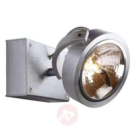 SLV Kalu 1 - one-bulb spotlight, brushed aluminium