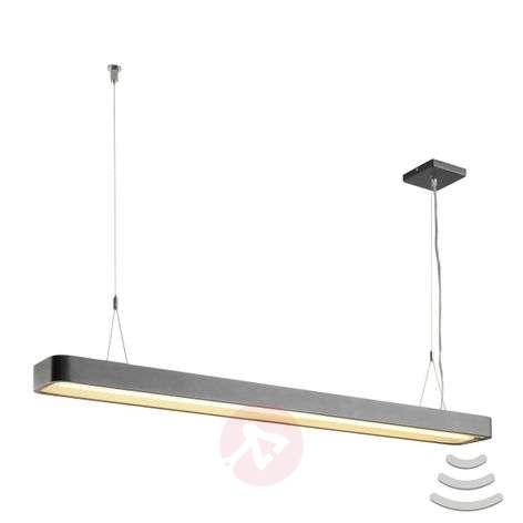 SLV Worklight LED hanging light anthracite, sensor