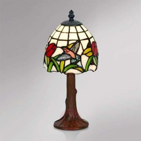 Small table lamp Lesly, Tiffany design