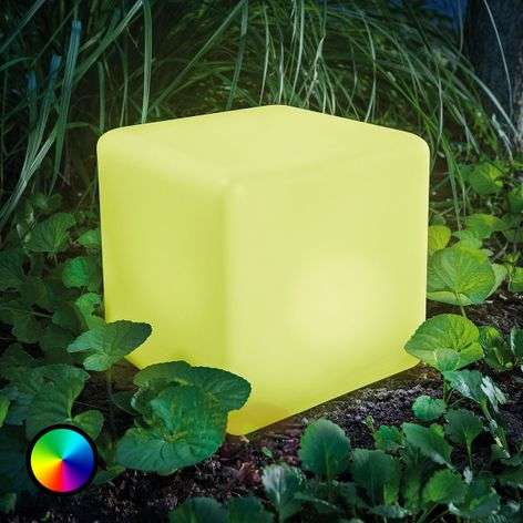 Smart Cube - LED solar cube with colour change