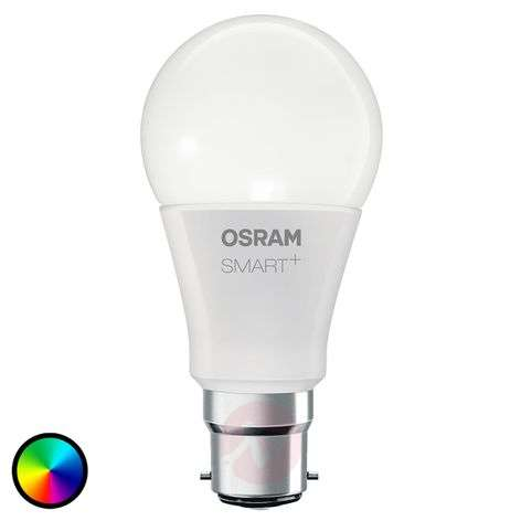 SMART+ LED B22 10 W, RGBW, 800 lm, dimmable