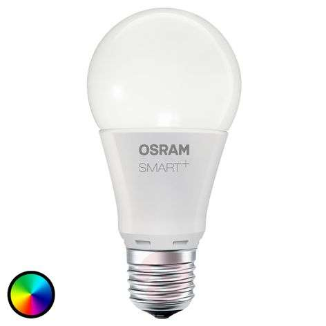 SMART+ LED E27 10 W, RGBW, 800 lm, dimmable