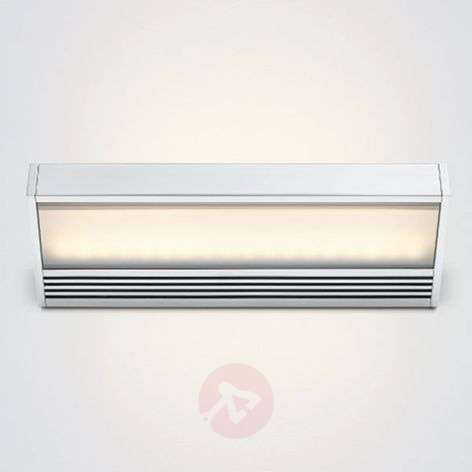 SML LED wall lamp made of polished aluminium