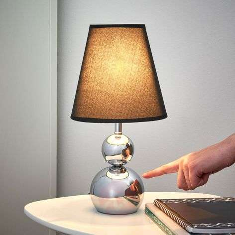 Sofia Table Light with Dimmer Black