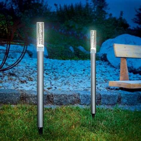 Solar design light sticks twin set