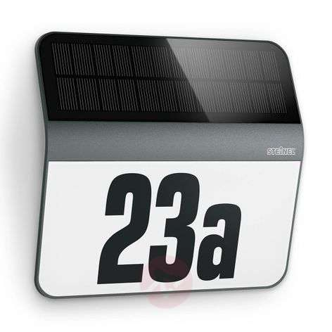 Solar LED LH-N house number wall light