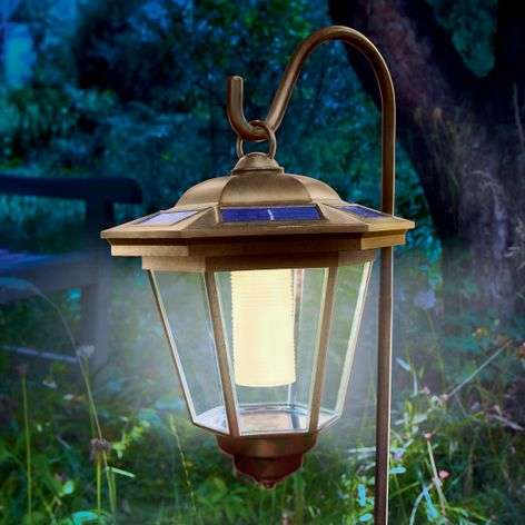 Solar LED pendant light Tivoli