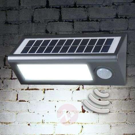Solar outdoor wall light Okkea with motion sensor-4014990-31