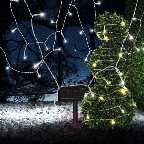 Solar string lights Ece transparent