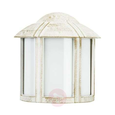 736968059cc Solid Affra outdoor wall light in white-gold-4000066-31