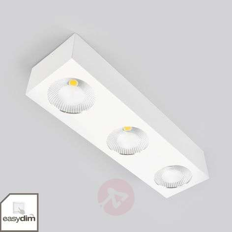 Sonja Easydim LED ceiling lamp, three-bulb