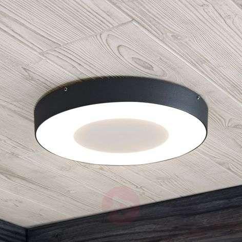 Sora LED outdoor ceiling light, round