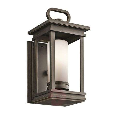South Hope outdoor wall lamp - 14 cm wide