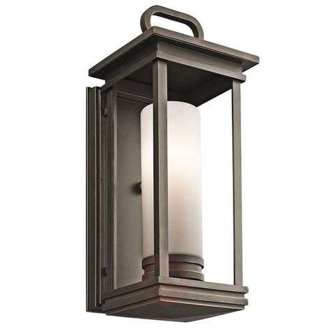 South Hope wall light for outdoors - 17.8 cm wide