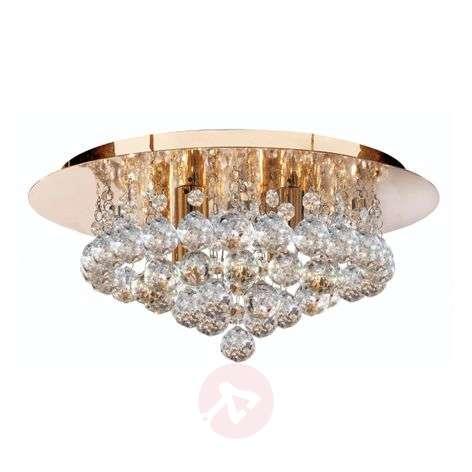 Sparkling Hanna ceiling light, clear