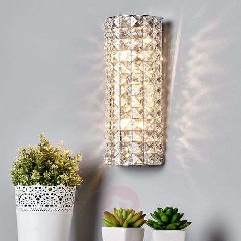 Sparkling Kylian crystal wall lamp